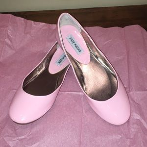 Pink Patent Ballet Flats